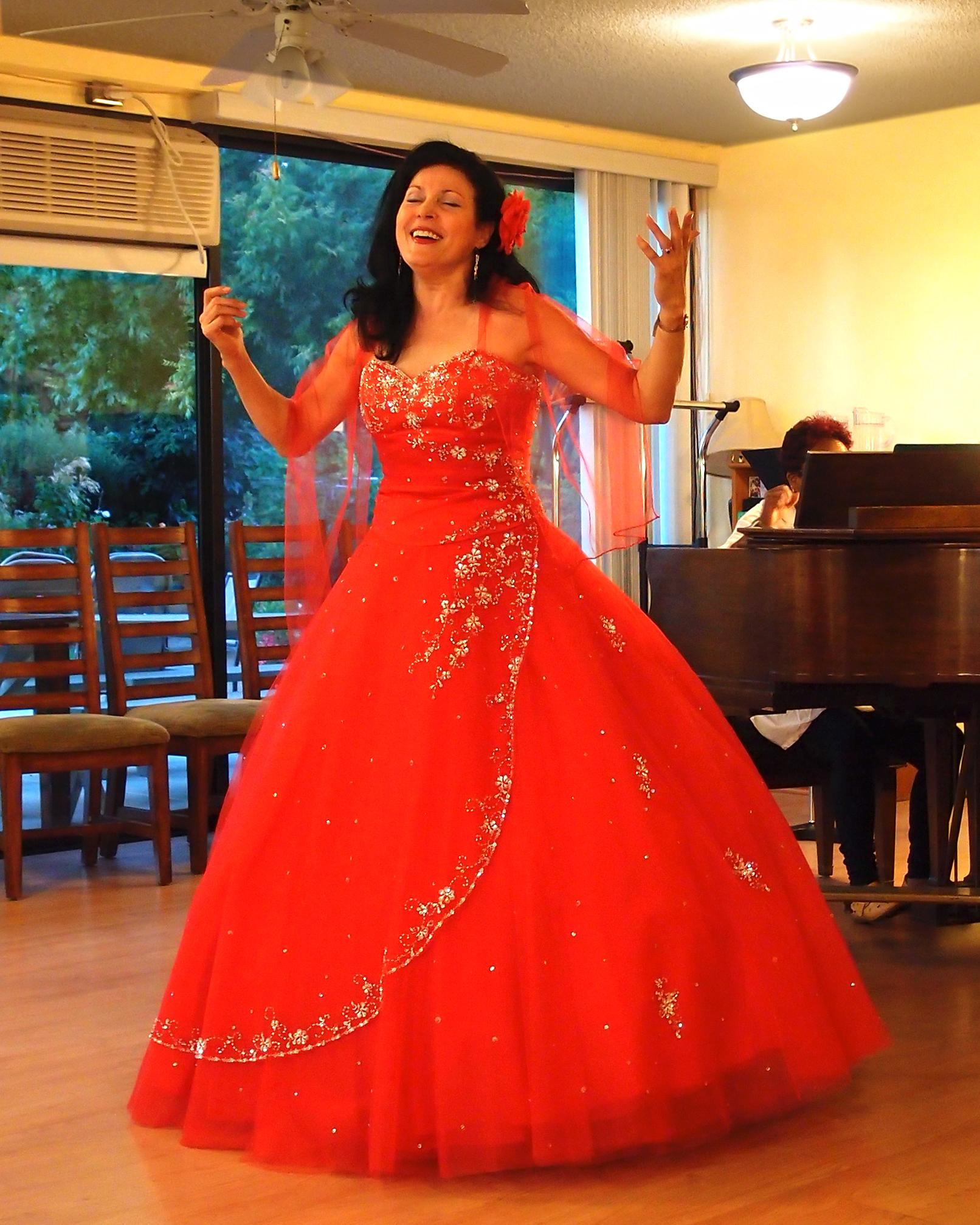 Menorah as Carmen