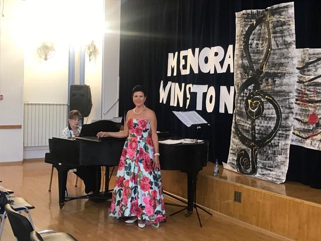 Menorah Winston